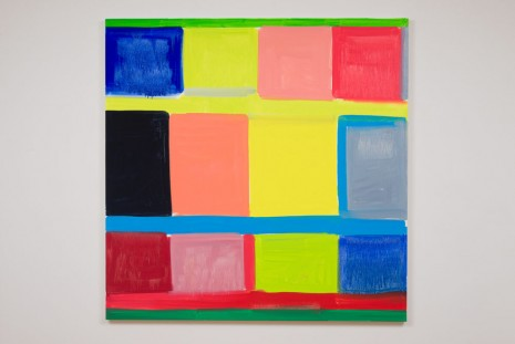 Stanley Whitney, Inside Out, 2014, team (gallery, inc.)