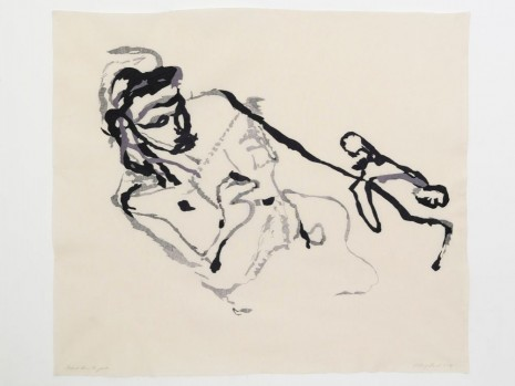 Tracey Emin, Portrait from the past, 2014, Lehmann Maupin