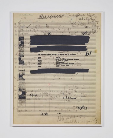 Susan Philipsz, Part File Score II, 2014, Tanya Bonakdar Gallery