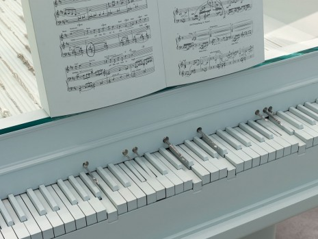 Barbara Bloom, Semblance of a House: Piano (detail), 2013, Galerie Gisela Capitain