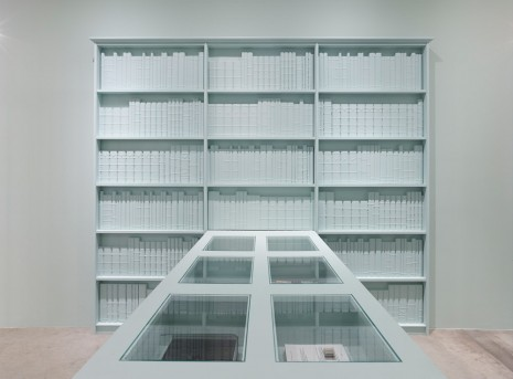 Barbara Bloom, Semblance of a House: Library, 2013, Galerie Gisela Capitain