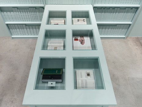 Barbara Bloom, Semblance of a House: Library (detail), 2013, Galerie Gisela Capitain