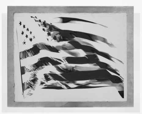 Banks Violette, American Flag, 2011, Galerie Thaddaeus Ropac