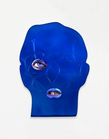 Tony Oursler, ID, 2014, Lisson Gallery