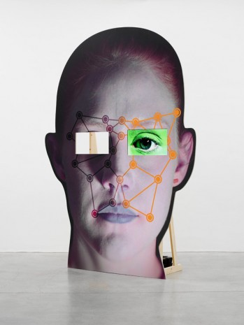 Tony Oursler, VIE, 2014, Lisson Gallery