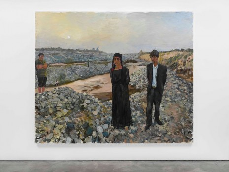 Liu Xiaodong, West, 2012, Lisson Gallery