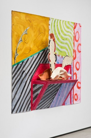 Betty Woodman, The Red Table, 2014, David Kordansky Gallery