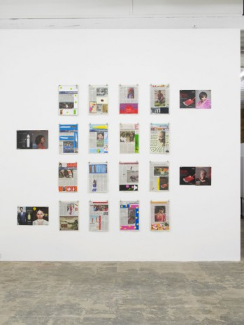 Lubaina Himid, Negative Positives: The Guardian Archive, 2007 - 2015, Hollybush Gardens
