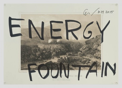 Ei Arakawa and Karl Holmqvist, Untitled (ENERGY FOUNTAIN), 2015, OVERDUIN & CO.