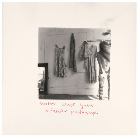 Francesca Woodman, Another almost square fashion photograph, Providence, Rhode Island (P.066), 1975-­‐1978, Marian Goodman Gallery