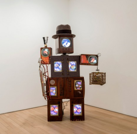 Nam June Paik, Beuys Voice, 1990, James Cohan Gallery