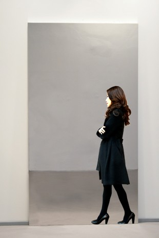Michelangelo Pistoletto, Partitura in nero - A, 2010-2012, Simon Lee Gallery