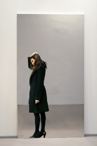 Michelangelo Pistoletto, Partitura in nero - E, 2010-2012, Simon Lee Gallery