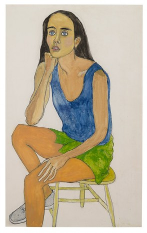 Alice Neel, Ginny, 1975, David Zwirner