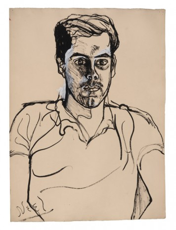 Alice Neel, Richard, 1971, David Zwirner