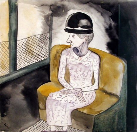 Alice Neel, Woman on a Train, ca. 1940, David Zwirner