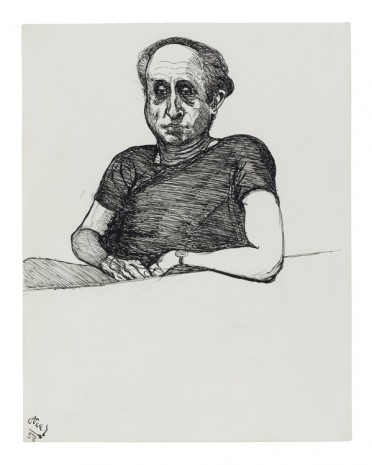 Alice Neel, Sam, 1958, David Zwirner