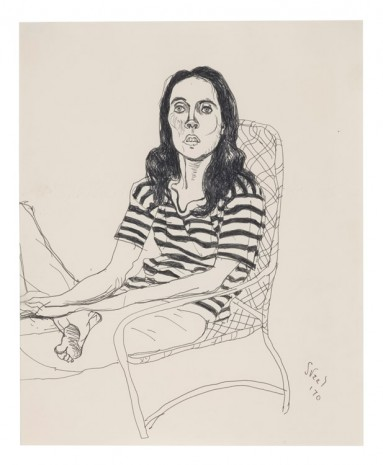 Alice Neel, Ginny, 1970, David Zwirner