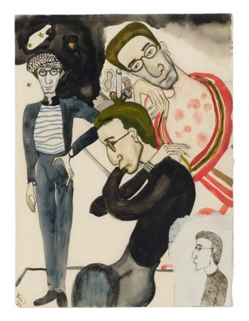 Alice Neel, Christopher Lazare, 1932, David Zwirner