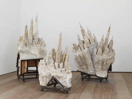 Liu Wei, Where Do We Go From Here, 2008, Lehmann Maupin