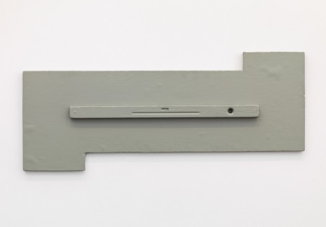 Palermo, Objekt mit Wasserwaage (Object with Spirit Level), 1969-73, David Zwirner