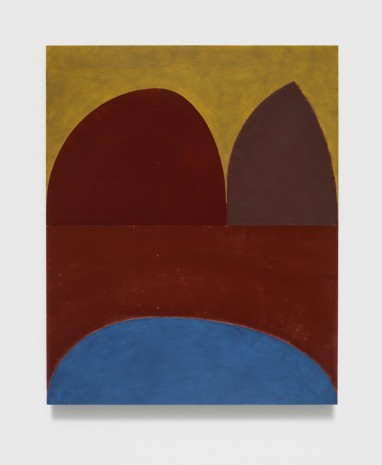 Suzan Frecon, dark red cathedral (tre), 2014, David Zwirner