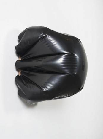 Analia Saban, Bulge (Black) #1, 2015, Tanya Bonakdar Gallery