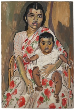 Alice Neel, Mother and Child, c. 1962, Xavier Hufkens