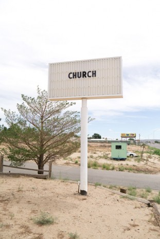 Terry Richardson, Church, 2014, Perrotin