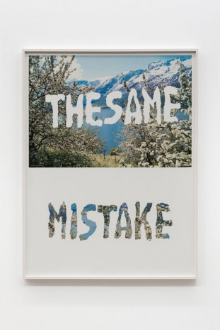 Mitchell Syrop, The Same Mistake, 1998, Croy Nielsen