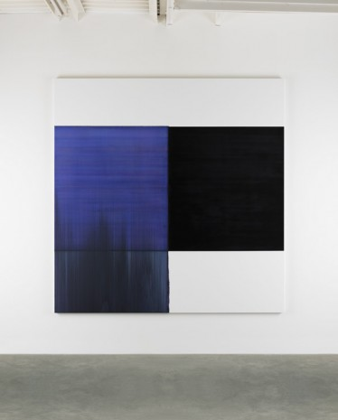 Callum Innes, Exposed Painting Blue Violet, 2015, Frith Street Gallery