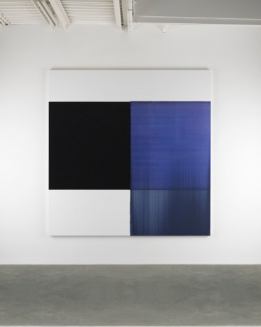 Callum Innes, Exposed Painting Bluish Violet Red, 2014, Frith Street Gallery