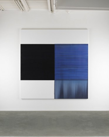 Callum Innes, Exposed Painting Blue Violet, 2014, Frith Street Gallery