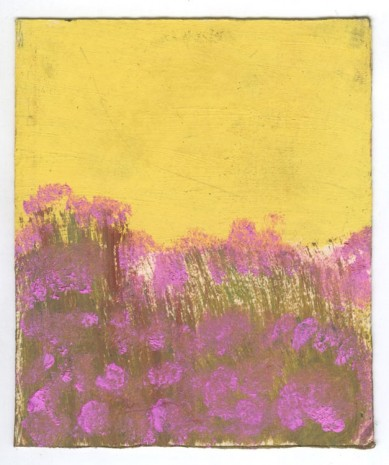 Frank Walter, Landscape Series: Yellow Sky and Pink Flowers, , Ingleby Gallery