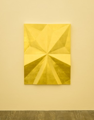 Gonzalo Lebrija, Unfolded gold: Riff, 2015, Galerie Laurent Godin