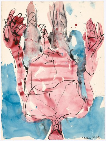 Georg Baselitz, Untitled, 2014, Galleri Bo Bjerggaard