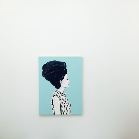 Sally Ross, Lady, 2014, Galerie Sultana