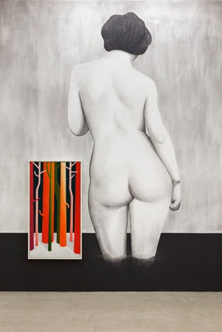 Nicolas Party, Valloton nude, 2015, kaufmann repetto