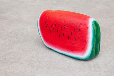 Nicolas Party, Blakam's stone (watermelon), 2015, kaufmann repetto