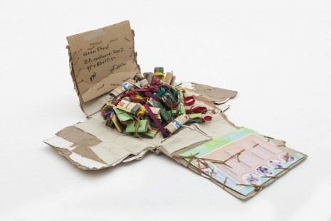 Hassan Sharif, Zip & cardboard, 2007, gb agency