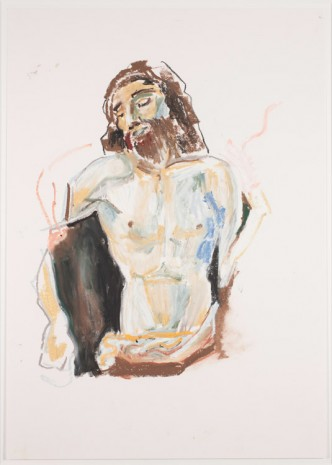 Isabel Nolan, Jesus (after Bellini) torso, 2015, Kerlin Gallery