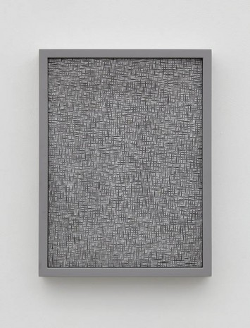 Anthony Pearson, Untitled (Etched Plaster), 2015, Alison Jacques Gallery
