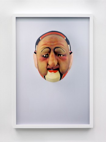 Jamie Isenstein, Masks Wearing Masks (Chinese Opera Old Lady), 2015, Andrew Kreps Gallery