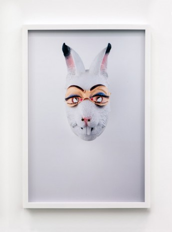Jamie Isenstein, Masks Wearing Masks (Rabbit Bunny), 2015, Andrew Kreps Gallery