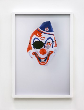 Jamie Isenstein, Masks Wearing Masks (Clown Pirate), 2015, Andrew Kreps Gallery