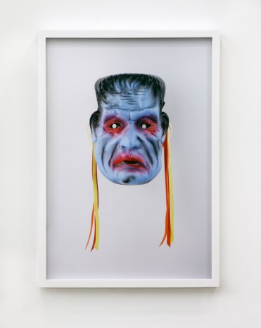 Jamie Isenstein, Masks Wearing Masks (Frankenstein), 2015, Andrew Kreps Gallery