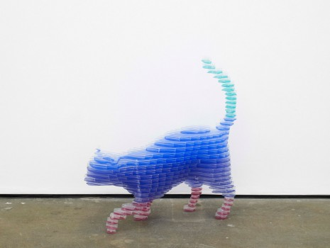 Matthew Darbyshire, CAPTCHA No. 36 - Domestic Cat (walking), 2015, Herald St