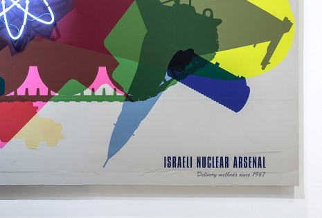 Alessandro Balteo Yazbeck, Delivery Methods Since 1967. Israeli Nuclear Arsenal, 2004-2013 (detail), Green Art Gallery