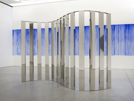 Jeppe Hein, Sine Curve I, 2015, 303 Gallery