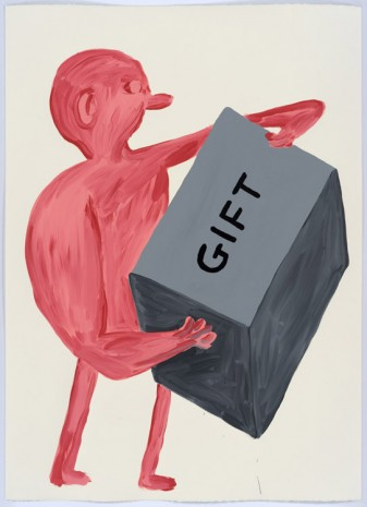 David Shrigley, Untitled (Gift), 2015, Anton Kern Gallery